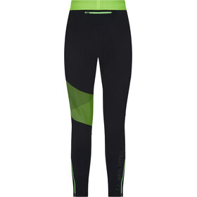 La Sportiva Radial Pantalons Homme, black/jasmine green